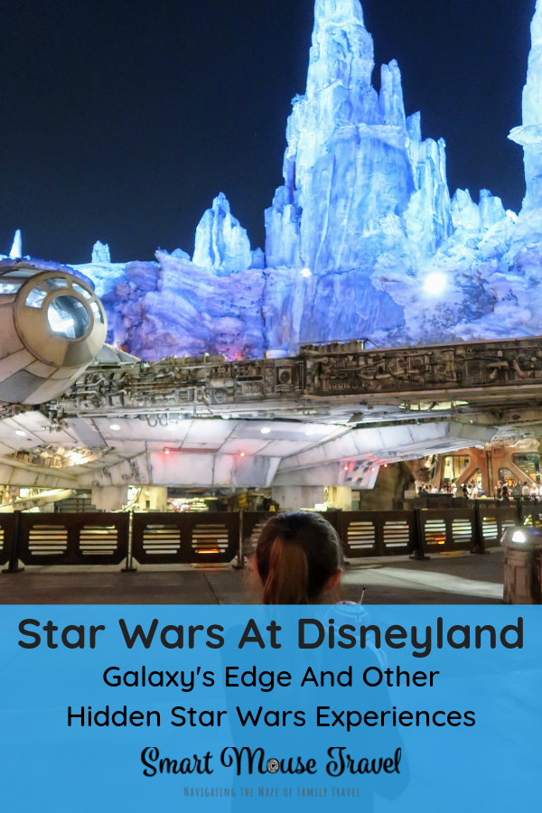Star Wars fans can do everything Star Wars at Disneyland Galaxy's Edge and Tomorrowland if they know exactly where to look for these special experiences. #starwars #galaxysedge #disneyland #california