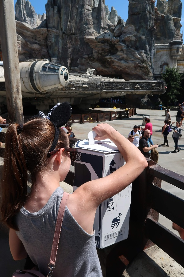 Building a custom droid at Galaxy's Edge Droid Depot is an incredible way to become part of the Star Wars story in Black Spire Outpost. #droiddepot #galaxysedge #disneyworld #disneyland #starwars