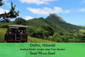 The Kualoa Ranch Jungle Jeep Expedition Tour is the perfect blend of exploring tropical landscapes and movie filming locations on Oahu. #hawaii #oahu #kualoaranch #jeeptour