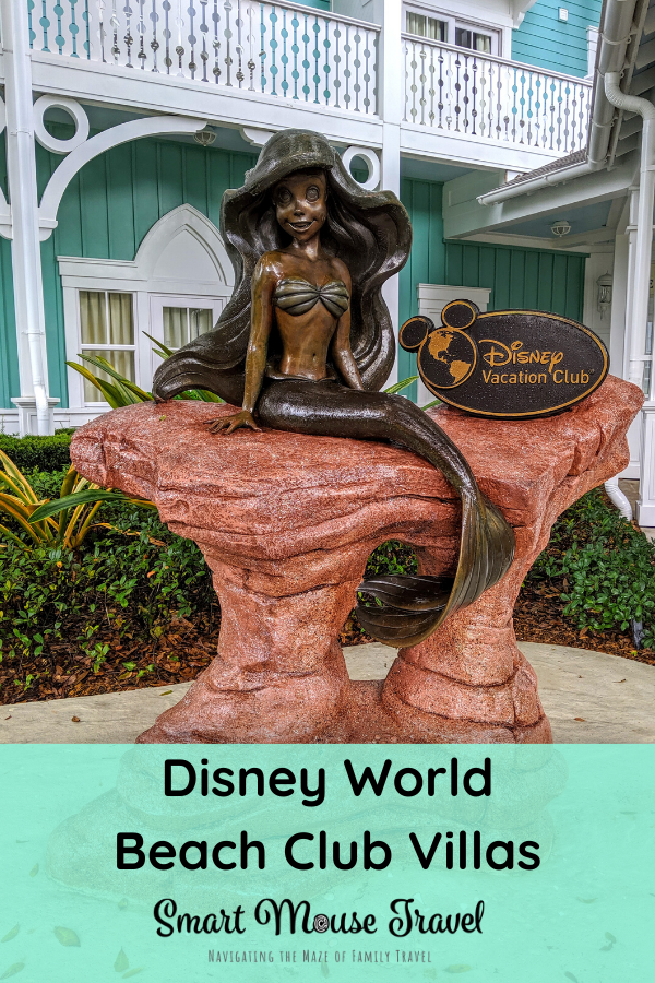 Disney's Beach Club Villas has a great location and the best Disney pool. Take a tour of our Beach Club Villa Studio to see the pros and cons of the room. #disneyworld #disneybeachclub #disneyresorts #familytravel #disneytips