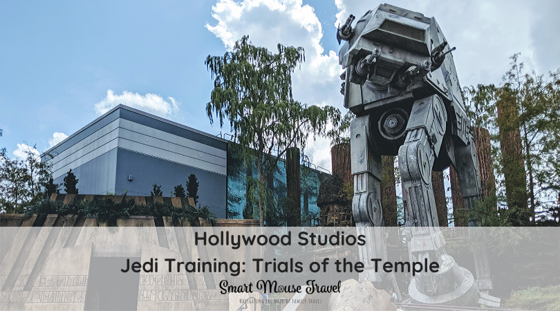 Do you have a young Star Wars fan in your group? If you answered yes, Disney World Jedi Training at Hollywood Studios should be part of your plans. #starwars #darthvader #kyloren #jeditraining #hollywoodstudios