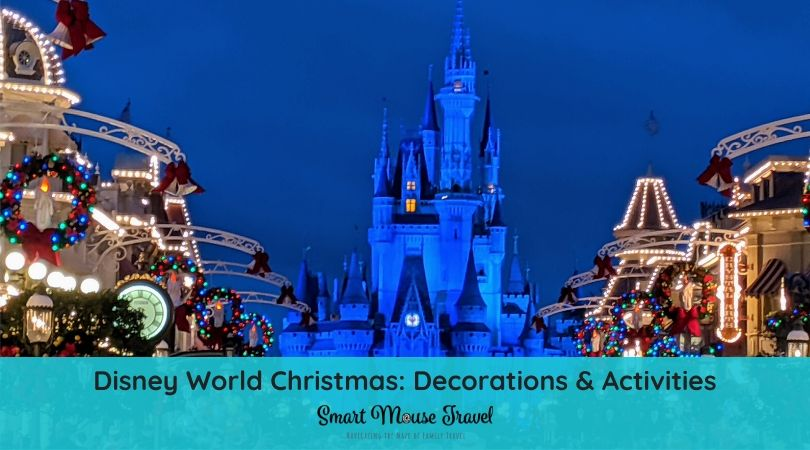 Disney World Christmas decorations and activities bring a special joy to the holidays. Here's our Disney World Christmas tips, decor, and activities guide. #disneyworld #disneychristmas #disneyworldplanning