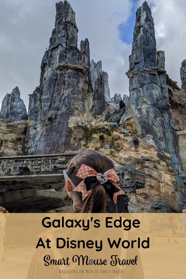 Visiting Star Wars Galaxy's Edge at Disney World is a dream for many Star Wars fans. Find tips for Batuu plus everything Star Wars in Hollywood Studios. #starwars #batuu #galaxysedge #disneyworld #hollywoodstudios #disneytips