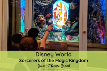 Sorcerers of the Magic Kingdom is a fun, free, and often overlooked activity at Disney World. Learn all about the game, how to start, and tips for playing. #disneyworld #magickingdom #disneytips #familytravel #disneyplanning