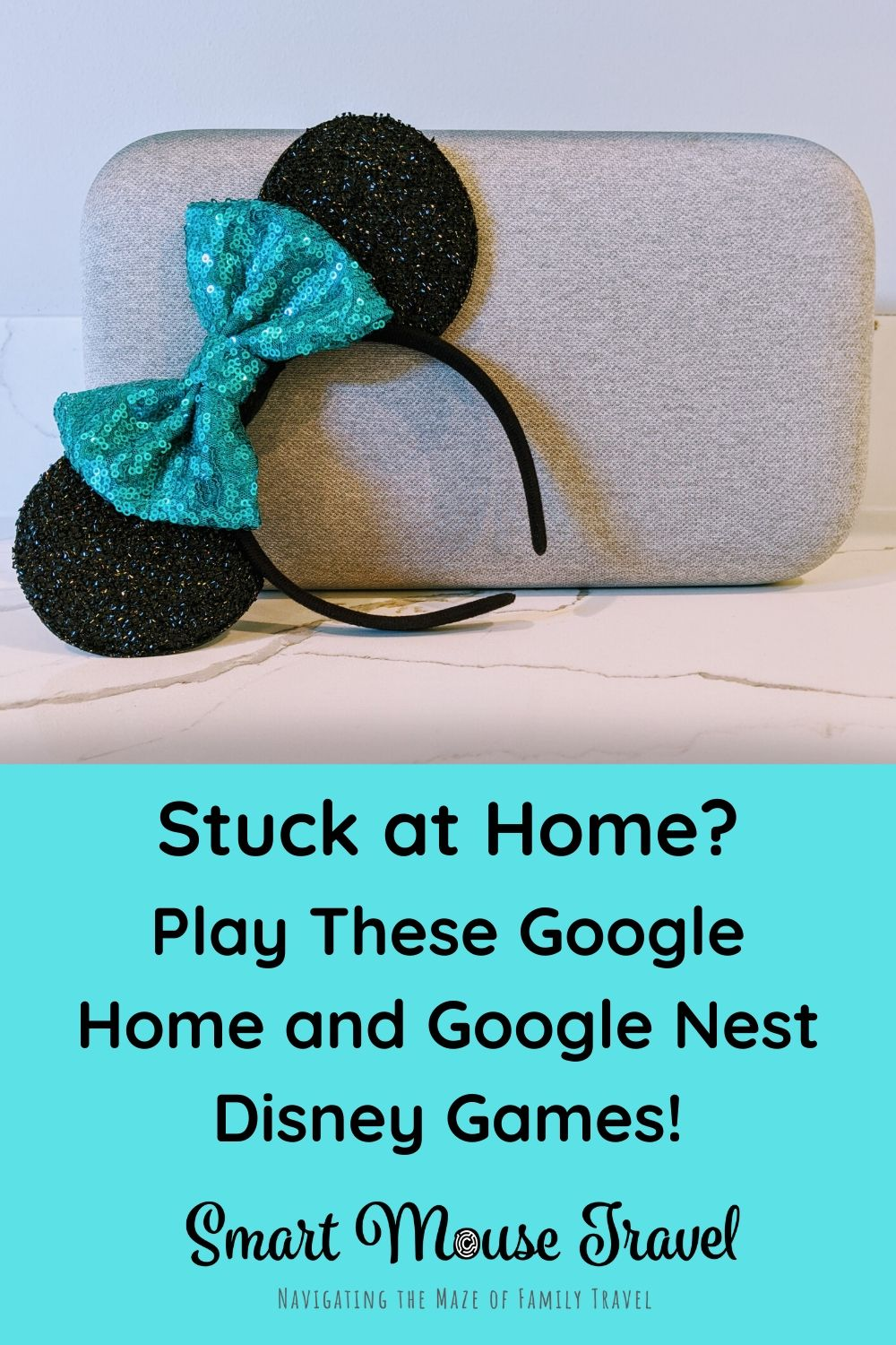 Google Home and Google Nest Mini Disney games are a great way to fight at home boredom. Find out more about these fun Disney games you can play with Google. #disneygames #bored #googlehome #googlenest