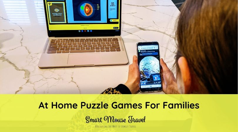 We love The Escape Game escape rooms. Recently we discovered The Escape Game also offers several fun at-home games for families who enjoy solving puzzles. #puzzles #familygames #escaperoom