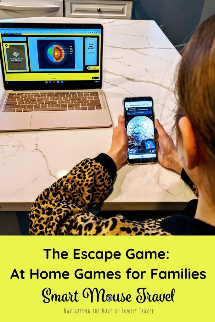 We love The Escape Game escape rooms. We recently discovered The Escape Game also offers several fun at-home games for families who enjoy solving puzzles. #puzzles #familygames #escaperoom