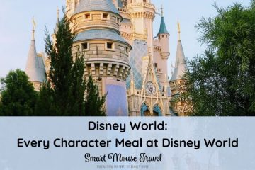 With over a dozen Disney World character meals it's hard to choose. We're reviewing all Disney World character dining to help you find the perfect one! #disneyworld #disneytips #disneycharacters #characterdining