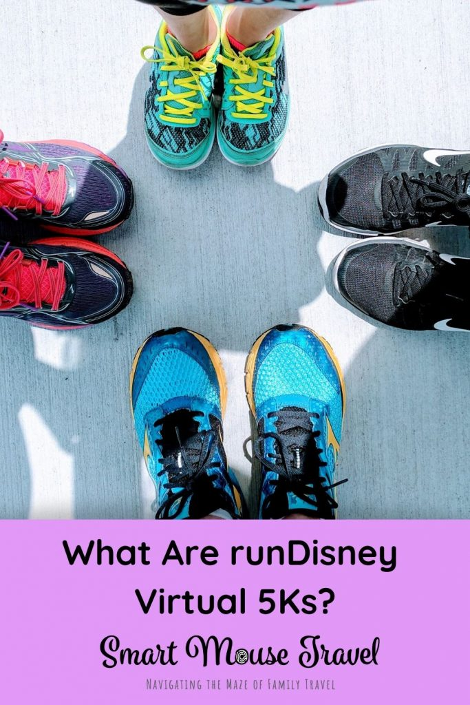 Get a dose of runDisney magic at home with the runDisney Virtual 5K Series. Do at home 5Ks at your own pace, but still get amazing runDisney medals. #rundisney #5K #familyfun