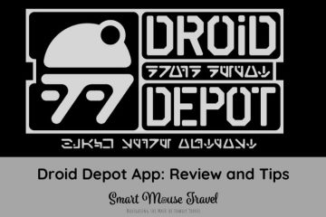 The Droid Depot app brings some new life to your custom Galaxy's Edge astromech. Find tips for pairing your droid to the app and which modes are most fun. #galaxysedge #droiddepot #astromech #disneyland #disneyworld