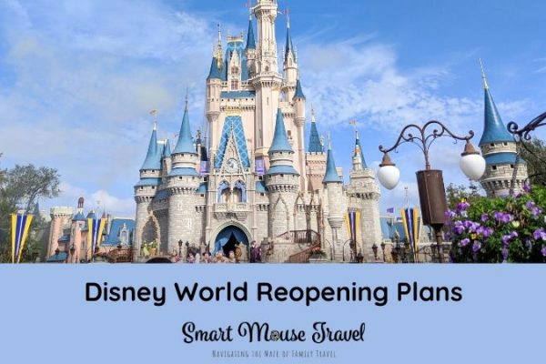 Disney World reopening has left people with lots of questions. Here is a quick review of what we know about Disney World reopening plans for guests. #disneyworld #disneyplanning