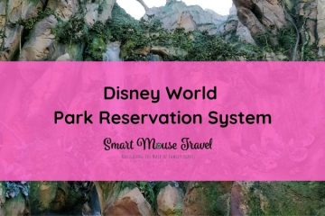 The new Disney World park reservation system can be confusing. Find out how to make park reservations plus our experience making them. #disneyworld #disneyplanning #disneytips