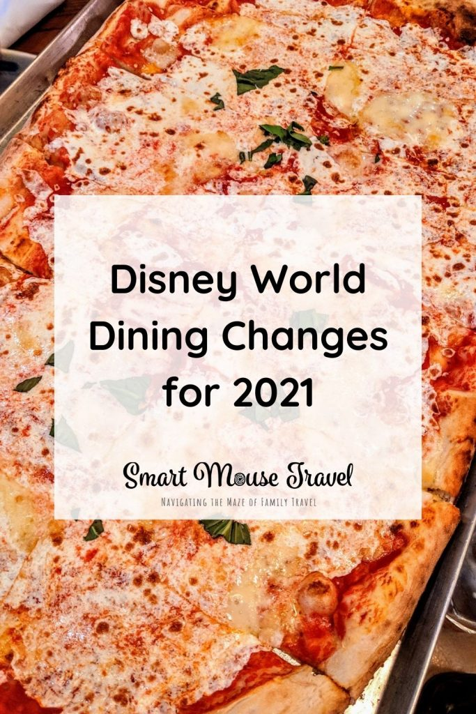 Disney World dining changes have made dining at Disney World very different. These are the 2021 Disney World dining changes you need to know now.