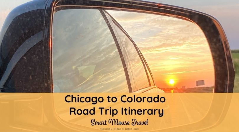 Our Chicago to Colorado road trip itinerary includes road side attractions, the Rocky Mountains, and a dude ranch for maximum family fun.