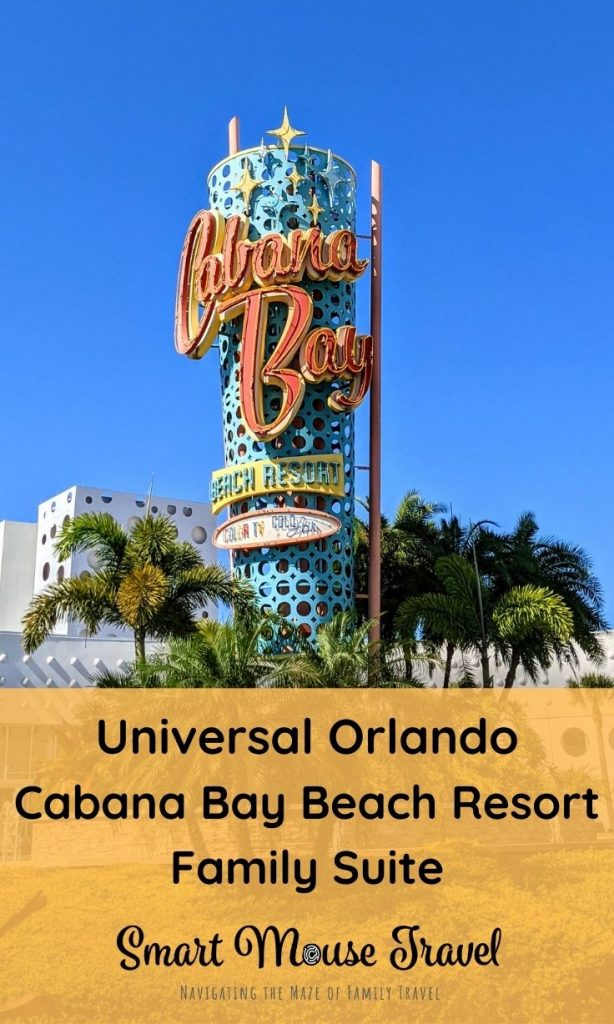 A Cabana Bay Beach Resort Family Suite is a great option for larger families since it can sleep six people when visiting Universal Orlando. #universalorlando #cabanabaybeachresort #universalorlandoresort #wizardingworldofharrypotter