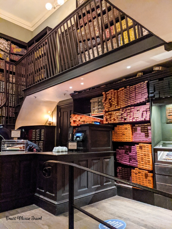 Ollivanders wand shop. Although still magical, the Wizarding World of Harry Potter during COVID has several changes that you need to know when planning your trip.