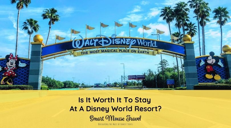 Disney World entrance gates. Is it worth it to stay at a Disney World resort? Here's what you should consider before booking a stay off-site for Disney World.