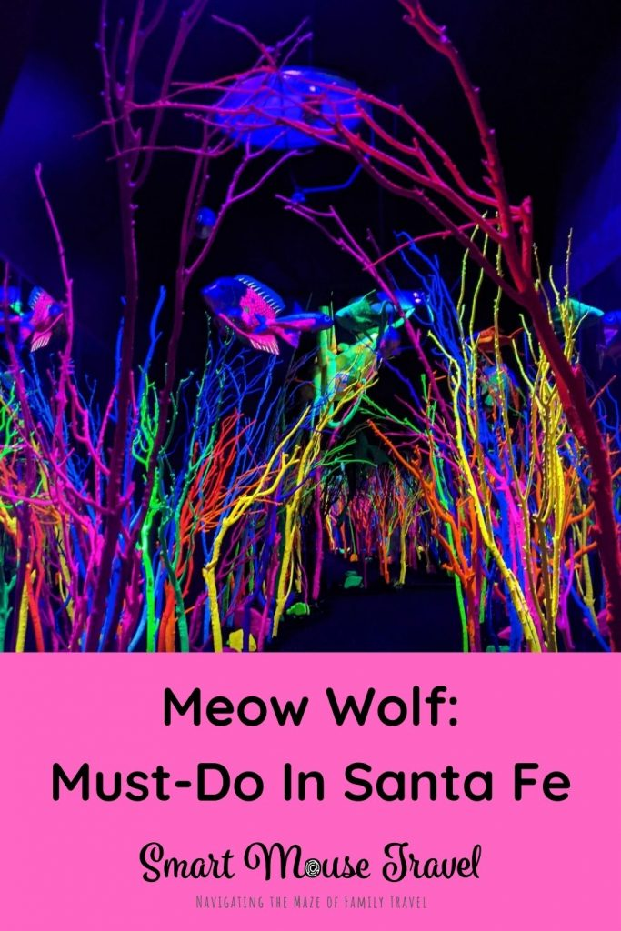 Meow Wold Santa Fe is a huge interactive art installation fun for all ages. Find out why House of Eternal Return is a must-do in Santa Fe. #santafe #familytravel #newmexico