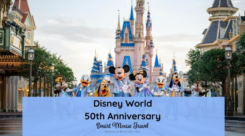 The Disney World 50th anniversary party begins October 2021! Find information on everything for The World's Most Magical Celebration here.
