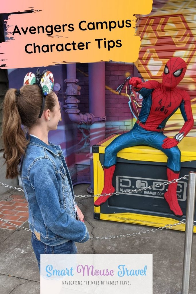 Avengers Campus characters and shows are an incredible part of Disneyland's Avengers Campus. Follow these tips to find your favorite heroes.