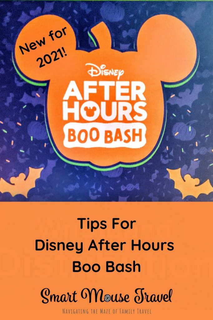 What is Disney After Hours Boo Bash vs Mickey's Not So Scary Halloween Party? Understand the difference and see our Boo Bash tips and tricks.