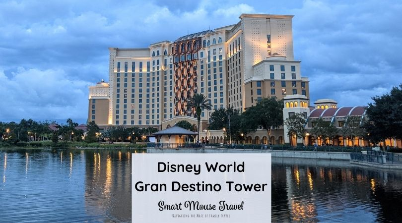 Take a tour of our Gran Destino Tower water view room to see why this hidden gem is the best Disney World moderate resort.