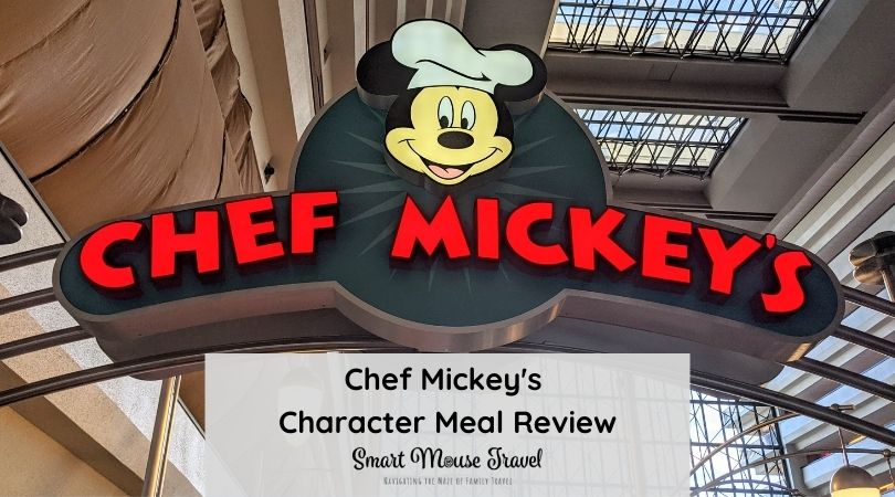Trying to find a good Disney World character meal? Chef Mickey's has a great location, good food, and lots of fun character interaction.